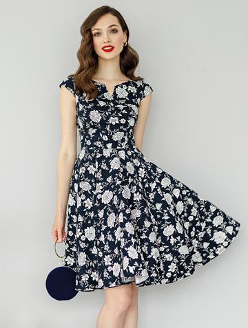 Платье bakly, цвет синий