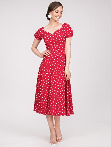 Платье gretchen, цвет красный