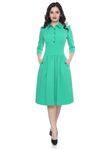 Платье tonksa, цвет насыщенно-мятный