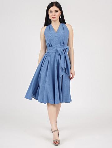 Платье serafima, цвет индиго