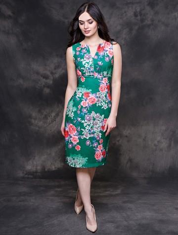 Платье issol, цвет зеленый