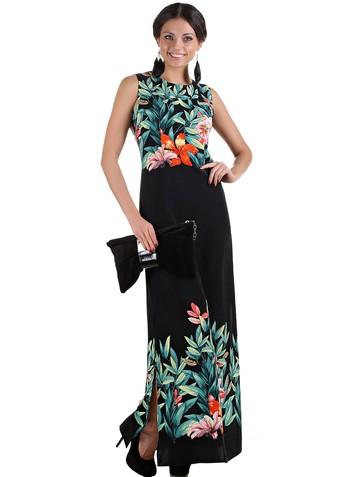 Платье tairy, цвет черно-зеленый
