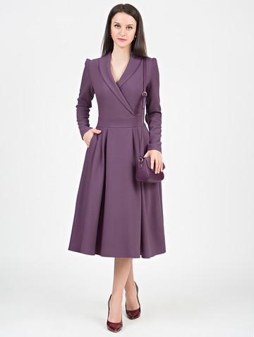 Платье storm, цвет серо-лиловый