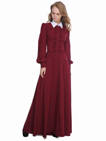 Платье lionessa, цвет бордовый