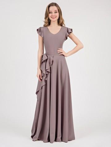 Платье selesta, цвет капучино