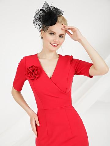 Платье mimy, цвет коралловый