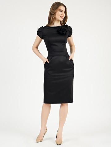 Платье ioganna, цвет черный