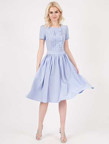 Платье danata, цвет светло-голубой