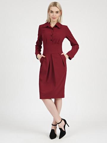 Платье nioby, цвет бордовый