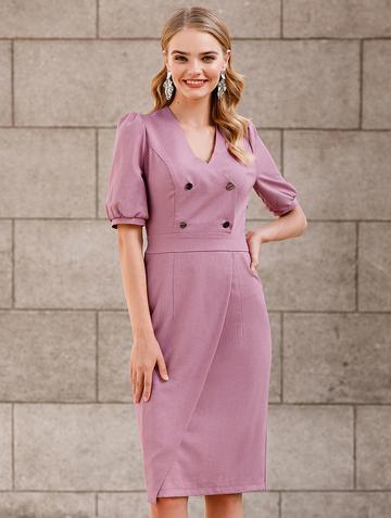 Платье teofania, цвет лиловый