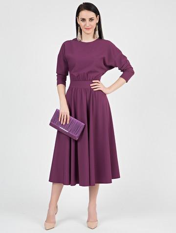 Платье halila, цвет лилово-бордовый