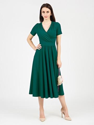 Платье atery, цвет темно-зеленый