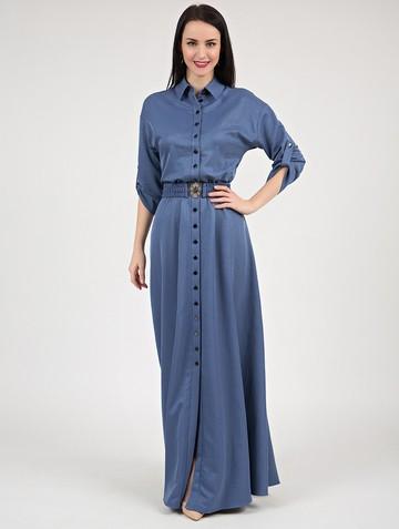 Платье inspira, цвет индиго