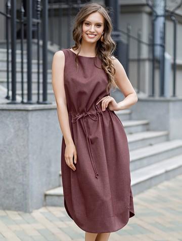 Платье lonly, цвет бургундия