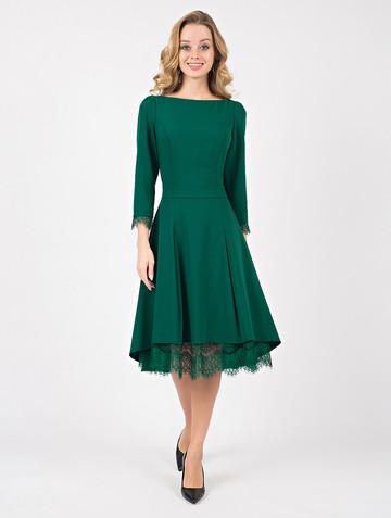 Платье neofita, цвет темно-зеленый