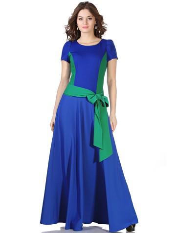 Платье keit, цвет сине-изумрудный