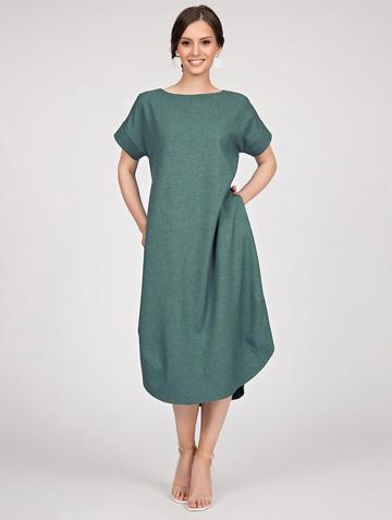 Платье kippy, цвет серо-зеленый