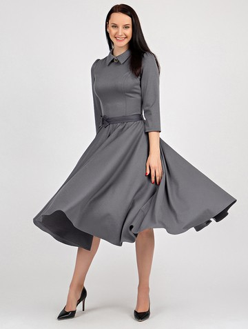 Платье macgery, цвет серый