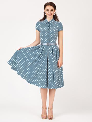 Платье trisha, цвет малахитовый