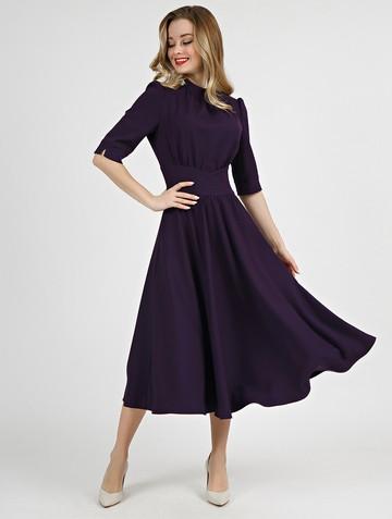 Платье sandrina, цвет темно-фиолетовый