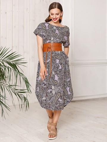 Платье uolly, цвет сиреневый