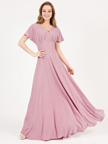 Платье edelmira, цвет пудровый