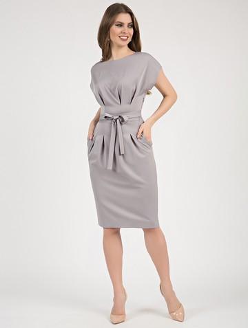 Платье elena, цвет серый