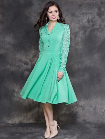 Платье beautty, цвет мятный