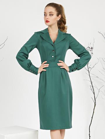 Платье rammy, цвет изумрудный