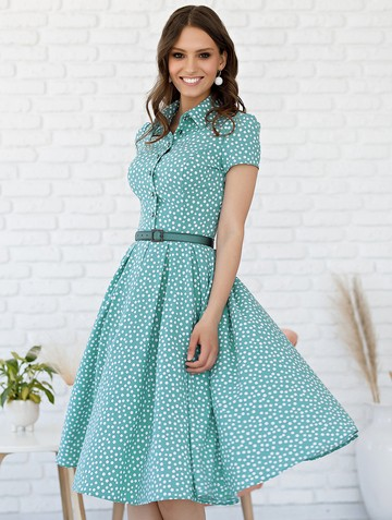 Платье trisha, цвет серо-зеленый