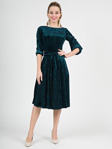 Платье alfira, цвет изумрудный