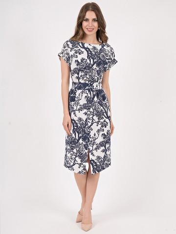 Платье tuelle, цвет бело-серый
