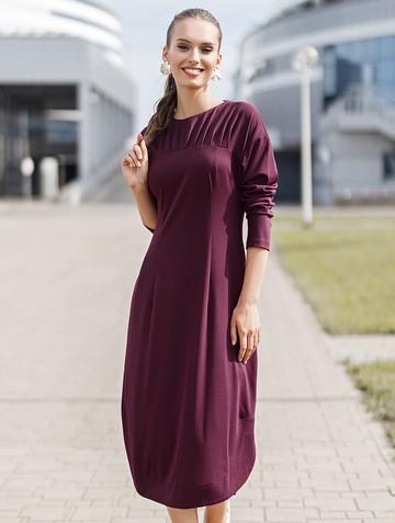 Платье arlena, цвет сливовый