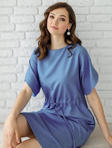 Платье molina, цвет голубой