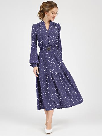 Платье meril, цвет фиолетовый