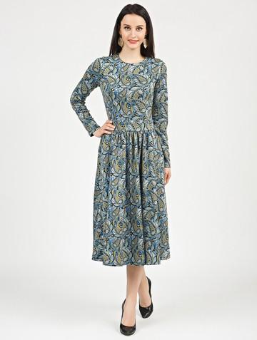 Платье daria, цвет голубой
