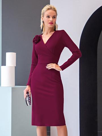 Платье sivera, цвет фуксия