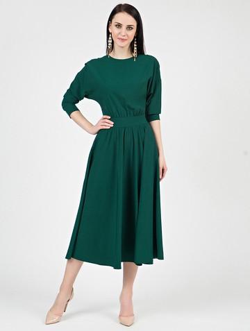 Платье halila, цвет изумрудный