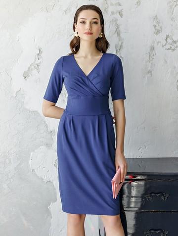 Платье ferris, цвет васильковый