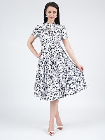 Платье irna, цвет белый