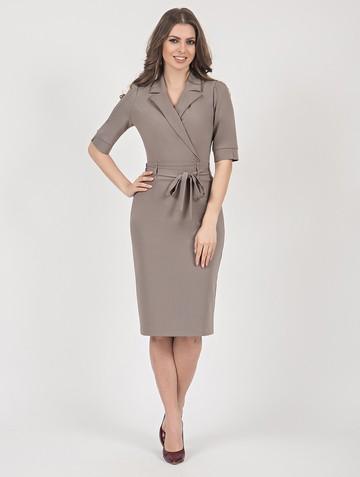 Платье neolina, цвет серый