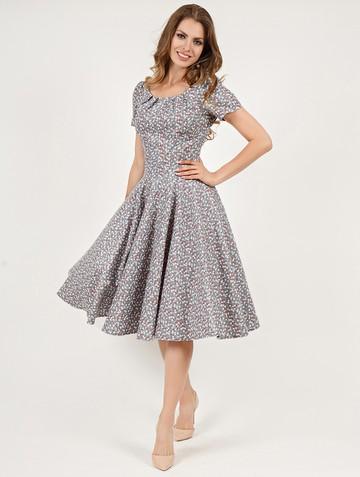 Платье elmer, цвет серо-белый
