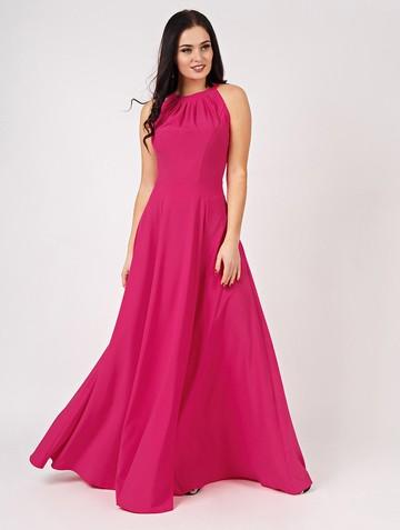 Платье marabu, цвет малиновый