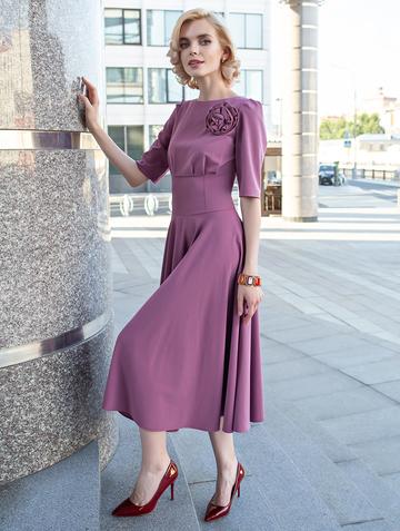 Платье santa, цвет розово-лиловый