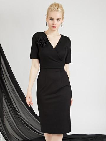 Платье mimy, цвет черный