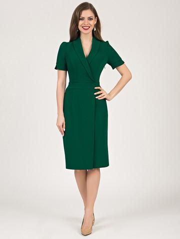 Платье magaly, цвет темно-зеленый