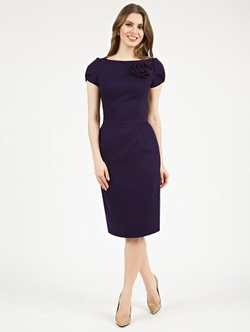 Платье ioganna, цвет темно-фиолетовый