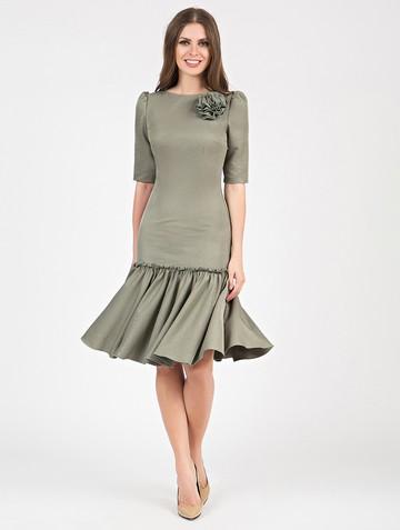 Платье kiello, цвет зеленый