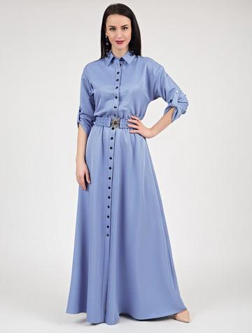 Платье inspira, цвет голубой