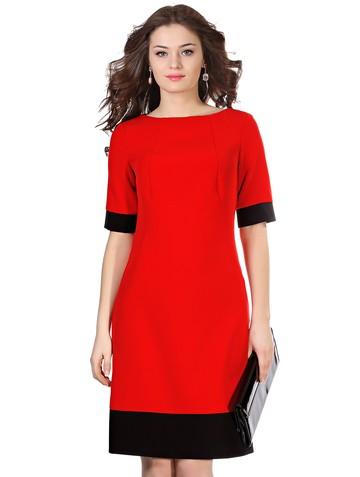 Платье kapa, цвет красно-черный